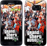 "Чехол на Samsung Galaxy S8 GTA 5. Collage v2 ""2815c-829"""