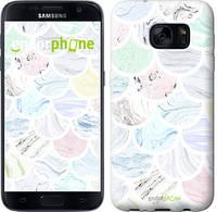 "Чехол на Samsung Galaxy S8 Мрамор 4 ""3865c-829"""