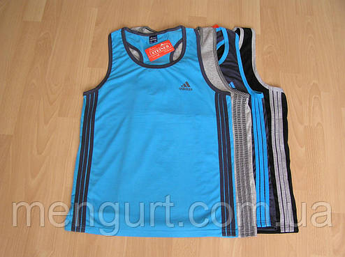 Борцовка(безрукавка,майка) мужская спортивная adidas адидас , фото 2