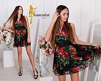 Легкое летнее платье в цветочном принте e-t31032729