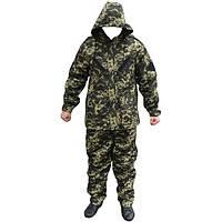 Зимний камуфляжный костюм пограничный пиксель
