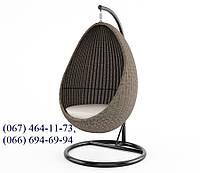 Качеля кокон Йо-Йо  Роял Песок, мебель для сада, мебель для дома, плетеная качеля