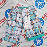Детские котоновые шорты для мальчика в клеточку  HAPPY NOUSE