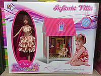 Дом Барби с куклой и мебелью, фото 1
