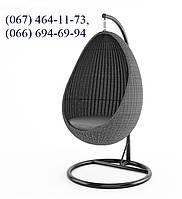 Качеля кокон Йо-Йо  Роял Серый, мебель для сада, мебель для дома, плетеная качеля