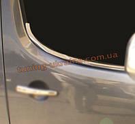 Нижние молдинги стекол Omsa на Peugeot Partner 2008