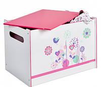 Ящик-комод для игрушек Сказочные цветы Worlds Apart