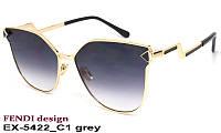 Очки от солнца женские EXCLUSIVE X-5422 C1 grey