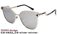 Очки от солнца женские EXCLUSIVE X-5422 C6 silver