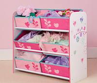 Органайзер - ящик для игрушек Сказочные цветы Worlds Apart, фото 1