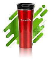 Термокружка Latte с нанесением логотипа, 3 цвета, красная, код 2502