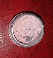 Пигмент розовый перламутр банка