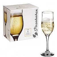 Набор бокалов для шампанского Pasabahce Tulipe 190мл 3шт.