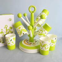 Держатель для стаканов и чашек Candy Tree Cup Holder с 6-ю стаканами, Набор стаканов с подставкой
