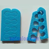 Разделители для пальцев ног, растопырки, распорки для педикюра
