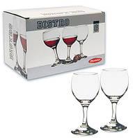 Набор бокалов для вина Pasabahce Bistro 220мл 6шт.