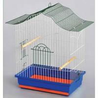 """Клетка """"КОРЕЛЛА"""" для птиц, попугаев, 47х30х62 см, цинк"""