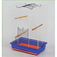 """Клетка """"НИМФА"""" для птиц, 47х30х66 см, цинк"""