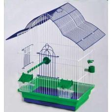 Клетка МАЛЬВА для птиц, 33х23х45 см, золото