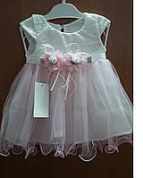 Нарядное детское платье 62р, 68р, 74р