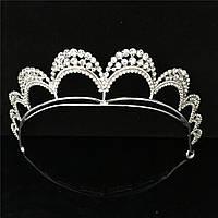 Тиара диадема ЭЛИС корона эксклюзивная Тиара для волос корона свадебная