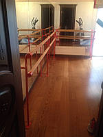 Балетный хореографический станок 2-х рядный (двухрядный)
