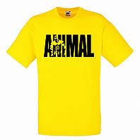 Футболка для пауэрлифтинга ANIMAL желтая