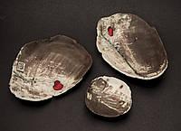 Керамические тарелки ручной работы, купить, Киев.