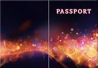 Обложка обкладинка на паспорт Абстракт abstract України Украина Pasport