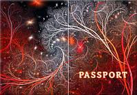 Обложка обкладинка на паспорт Абстракт узор abstract України Украина Pasport