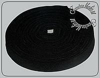 Резинка  2,5 см Украина, черного цвета 25м