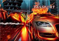Обложка обкладинка на паспорт авто автомобиль України Украина Pasport