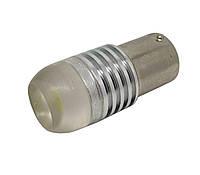 Светодиодная лампа цоколь 1156 HP 3W линза, 12В