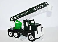 Детская машинка Аварийка военная МГ 128