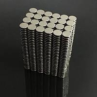 Неодимовый магнит дисковый 4 х 1 мм N50 magnet Neodymium магніт диск 4х1мм