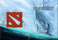 Обложка обкладинка на паспорт dota и dota 2 України Украина Pasport