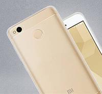Силиконовый прозрачный чехол для Xiaomi Redmi 4X
