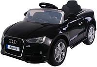 Детский электромобиль T-795 Audi A3 BLACK легковая на р.у. 2*6V4AH мотор 1*35W с MP3 114*64.5*52.5 ш.к. /1/