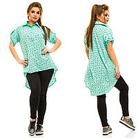 Рубашка - туника женская батал