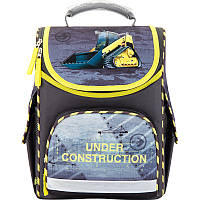 Ранец ортопедический каркасный для мальчика GO17-5001S-9