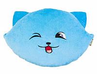 Подушка Котик-смайл хитрий