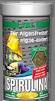 Корм для рыб JBL Spirulina премиум хлопья для морских и пресноводных рыб, 100 мл