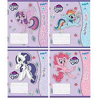 Тетрадь My Little Pony, 12 листов, клетка