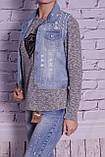 Жилет женский джинсовый стильный (код 001), фото 2