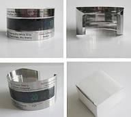 Термометр-браслет для вина из нержавеющей стали с LCD дисплеем