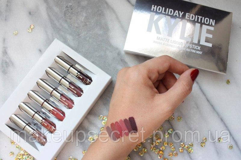 Набор помад kylie holiday edition 6 в 1