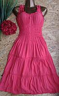 Платье из хлопка Анна 5627-6109 42-46р корал