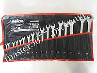 Набор ключей рожково-накидных 17шт