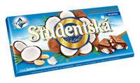Молочный шоколад STUDENTSKA PECET с кокосом, 180 гр.