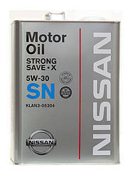 5W-30 SN for Nissan